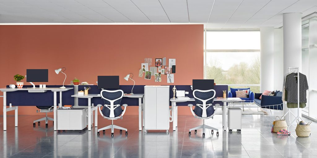 The Herman Miller Mirra Chair