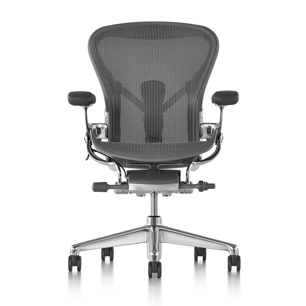 The Herman Miller Aeron chair